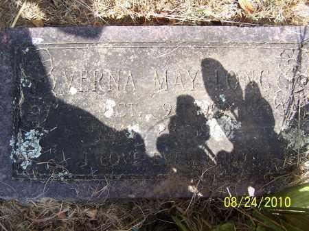LONG, VERNA MAY - Madison County, Arkansas   VERNA MAY LONG - Arkansas Gravestone Photos