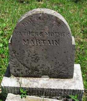 MARTAIN, JOHN - Madison County, Arkansas | JOHN MARTAIN - Arkansas Gravestone Photos