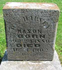 MASON, WILLIAM HARVEY - Madison County, Arkansas | WILLIAM HARVEY MASON - Arkansas Gravestone Photos
