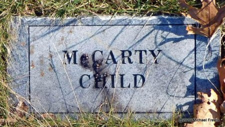 MCCARTY, CHILD - Madison County, Arkansas | CHILD MCCARTY - Arkansas Gravestone Photos