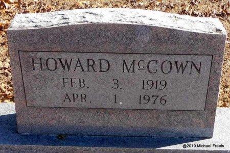 MCCOWN, HOWARD - Madison County, Arkansas | HOWARD MCCOWN - Arkansas Gravestone Photos