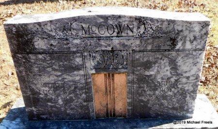 MCCOWN, LUCY W. - Madison County, Arkansas   LUCY W. MCCOWN - Arkansas Gravestone Photos