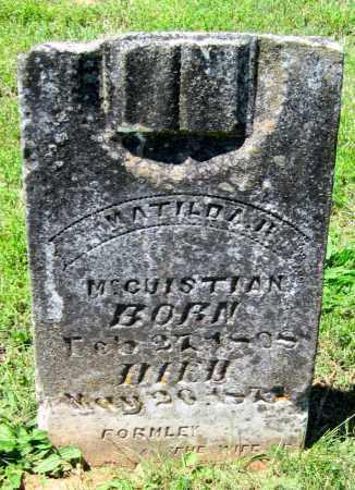 LONG, MATILDA - Madison County, Arkansas | MATILDA LONG - Arkansas Gravestone Photos