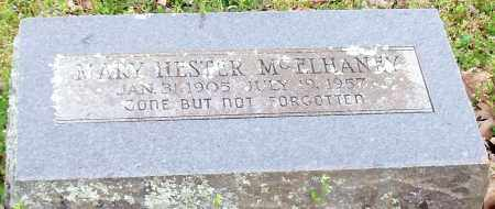 KECK MCELHANEY, MARY HESTER - Madison County, Arkansas | MARY HESTER KECK MCELHANEY - Arkansas Gravestone Photos