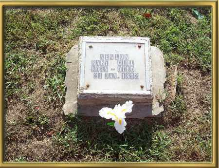 NEWLON, BABY GIRL - Madison County, Arkansas   BABY GIRL NEWLON - Arkansas Gravestone Photos