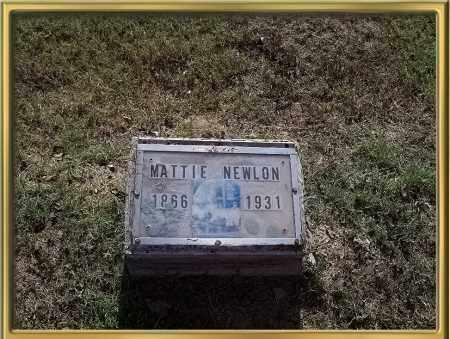 CREECH NEWLON, MATTIE A. - Madison County, Arkansas | MATTIE A. CREECH NEWLON - Arkansas Gravestone Photos