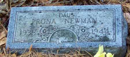NEWMAN, FRONA - Madison County, Arkansas   FRONA NEWMAN - Arkansas Gravestone Photos