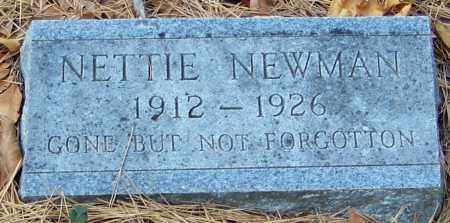 NEWMAN, NETTIE - Madison County, Arkansas | NETTIE NEWMAN - Arkansas Gravestone Photos