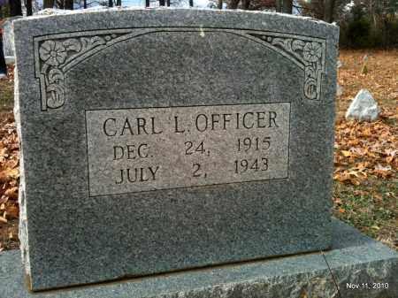 OFFICER, CARL L - Madison County, Arkansas | CARL L OFFICER - Arkansas Gravestone Photos