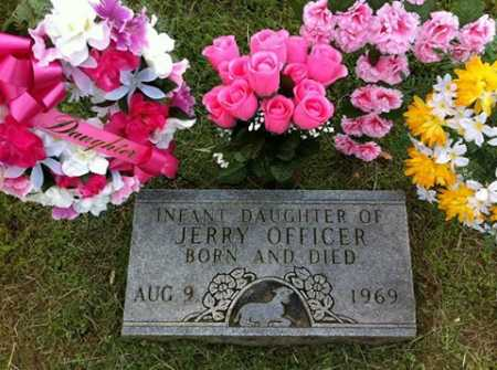 OFFICER, INFANT DAUGHTER - Madison County, Arkansas | INFANT DAUGHTER OFFICER - Arkansas Gravestone Photos