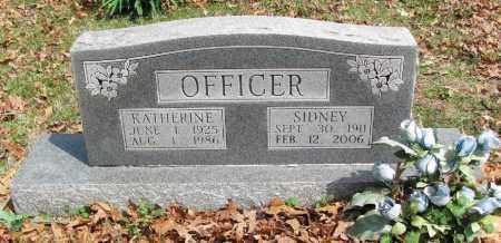OFFICER, SIDNEY - Madison County, Arkansas   SIDNEY OFFICER - Arkansas Gravestone Photos