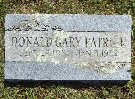 PATRICK, DONALD GARY - Madison County, Arkansas | DONALD GARY PATRICK - Arkansas Gravestone Photos