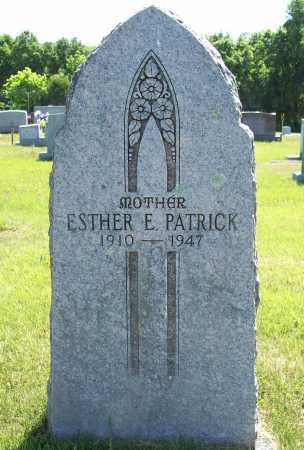 PATRICK, ESTHER E. - Madison County, Arkansas | ESTHER E. PATRICK - Arkansas Gravestone Photos