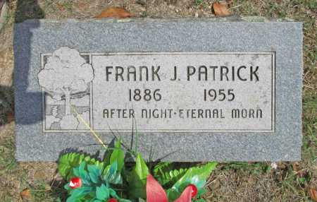 PATRICK, FRANK J - Madison County, Arkansas | FRANK J PATRICK - Arkansas Gravestone Photos