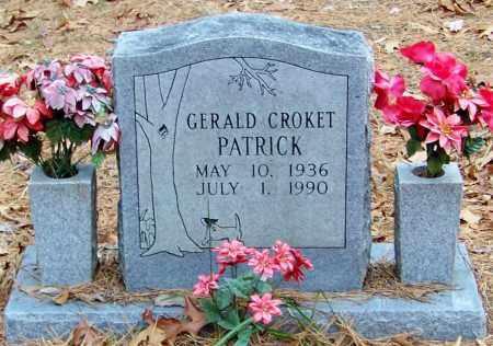 PATRICK, GERALD CROKET - Madison County, Arkansas   GERALD CROKET PATRICK - Arkansas Gravestone Photos