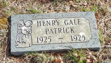 PATRICK, HENRY GALE - Madison County, Arkansas | HENRY GALE PATRICK - Arkansas Gravestone Photos