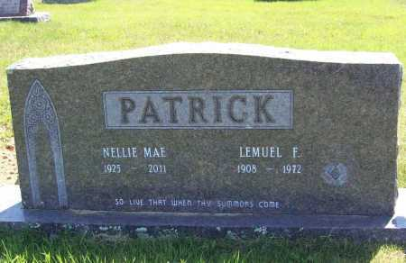 PATRICK, LEMUEL F. - Madison County, Arkansas | LEMUEL F. PATRICK - Arkansas Gravestone Photos