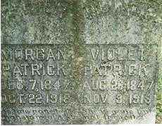 PATRICK, VIOLET (CLOSEUP) - Madison County, Arkansas | VIOLET (CLOSEUP) PATRICK - Arkansas Gravestone Photos