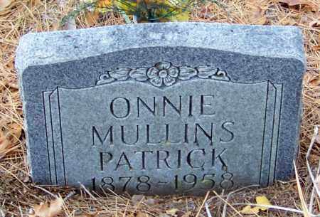 PATRICK, ONNIE - Madison County, Arkansas | ONNIE PATRICK - Arkansas Gravestone Photos