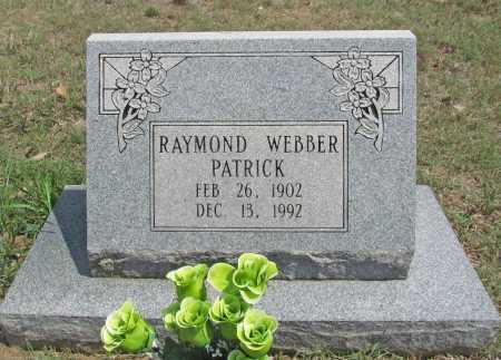 PATRICK, RAYMOND WEBBER - Madison County, Arkansas | RAYMOND WEBBER PATRICK - Arkansas Gravestone Photos