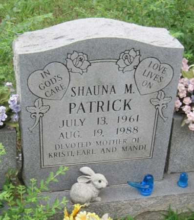 PATRICK, SHAUNA M - Madison County, Arkansas | SHAUNA M PATRICK - Arkansas Gravestone Photos