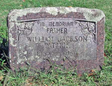 PATRICK, WILLIAM JACKSON - Madison County, Arkansas | WILLIAM JACKSON PATRICK - Arkansas Gravestone Photos