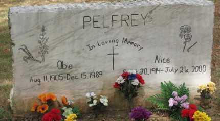 PELFRY, ALOCE - Madison County, Arkansas | ALOCE PELFRY - Arkansas Gravestone Photos