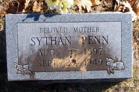 PENN, SYTHAN - Madison County, Arkansas   SYTHAN PENN - Arkansas Gravestone Photos