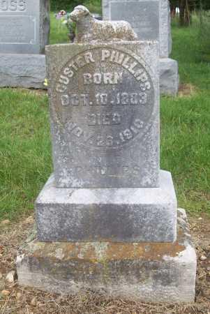 PHILLIPS, CUSTER - Madison County, Arkansas   CUSTER PHILLIPS - Arkansas Gravestone Photos