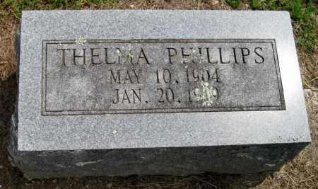 PHILLIPS, THELMA - Madison County, Arkansas   THELMA PHILLIPS - Arkansas Gravestone Photos