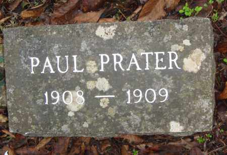 PRATER, PAUL - Madison County, Arkansas | PAUL PRATER - Arkansas Gravestone Photos