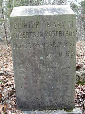 ROBERTSON, CLINTON - Madison County, Arkansas | CLINTON ROBERTSON - Arkansas Gravestone Photos