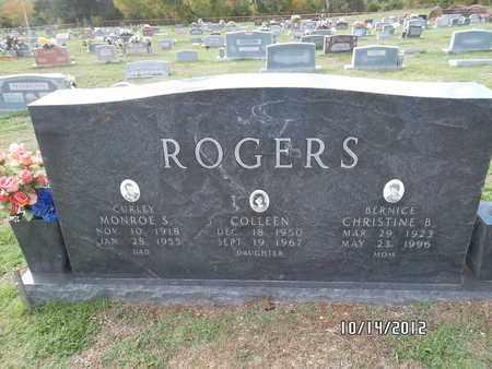 "ROGERS, MONROE S ""CURLEY"" - Madison County, Arkansas   MONROE S ""CURLEY"" ROGERS - Arkansas Gravestone Photos"
