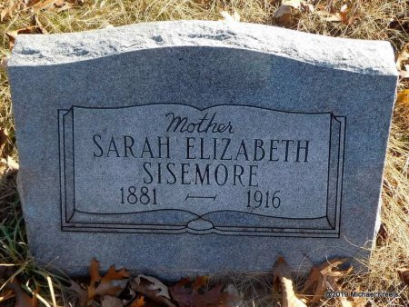 SISEMORE, SARAH ELIZABETH - Madison County, Arkansas | SARAH ELIZABETH SISEMORE - Arkansas Gravestone Photos