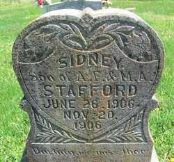 STAFFORD, SIDNEY - Madison County, Arkansas | SIDNEY STAFFORD - Arkansas Gravestone Photos