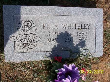 WHITELEY, ELLA MAY - Madison County, Arkansas   ELLA MAY WHITELEY - Arkansas Gravestone Photos