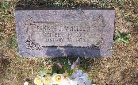WHITELEY, FANNIE JANE - Madison County, Arkansas | FANNIE JANE WHITELEY - Arkansas Gravestone Photos