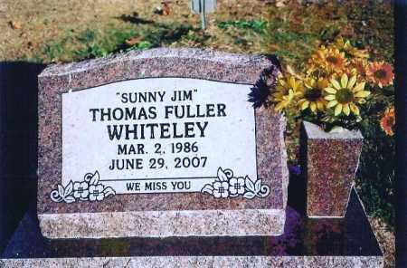 "WHITELEY, THOMAS FULLER ""SUNNY JIM"" - Madison County, Arkansas | THOMAS FULLER ""SUNNY JIM"" WHITELEY - Arkansas Gravestone Photos"