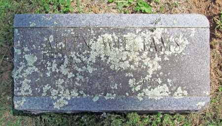 WILLIAMS, ALLEN - Madison County, Arkansas | ALLEN WILLIAMS - Arkansas Gravestone Photos