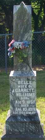 WILSON WILLIAMS, BELLE - Madison County, Arkansas | BELLE WILSON WILLIAMS - Arkansas Gravestone Photos