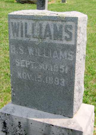 WILLIAMS, BELLE S - Madison County, Arkansas   BELLE S WILLIAMS - Arkansas Gravestone Photos