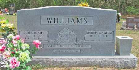 WILLIAMS, CURTIS DONALD - Madison County, Arkansas | CURTIS DONALD WILLIAMS - Arkansas Gravestone Photos