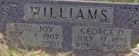 WILLIAMS, GEORGE D - Madison County, Arkansas | GEORGE D WILLIAMS - Arkansas Gravestone Photos