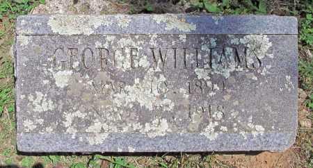 WILLIAMS, GEORGE H - Madison County, Arkansas | GEORGE H WILLIAMS - Arkansas Gravestone Photos
