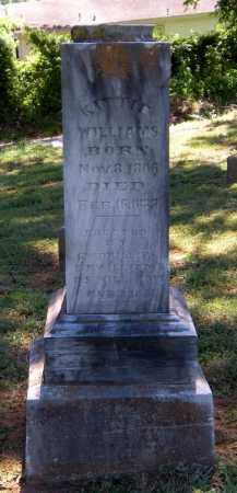 WILLIAMS, KITTIE - Madison County, Arkansas | KITTIE WILLIAMS - Arkansas Gravestone Photos