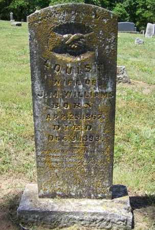 WILLIAMS, LOUISA - Madison County, Arkansas   LOUISA WILLIAMS - Arkansas Gravestone Photos