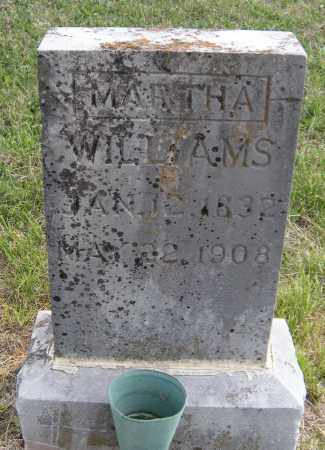WILLIAMS, MARTHA - Madison County, Arkansas | MARTHA WILLIAMS - Arkansas Gravestone Photos