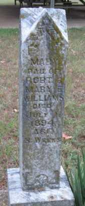 WILLIAMS, MARY - Madison County, Arkansas | MARY WILLIAMS - Arkansas Gravestone Photos
