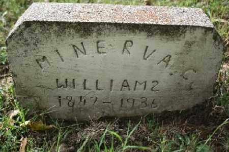 WILLIAMS, MINERVA - Madison County, Arkansas | MINERVA WILLIAMS - Arkansas Gravestone Photos