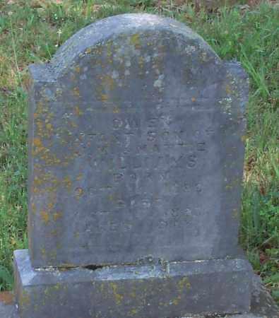 WILLIAMS, OWEN - Madison County, Arkansas   OWEN WILLIAMS - Arkansas Gravestone Photos